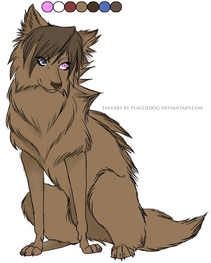 pretty wolf by deathshallwepart on deviantart