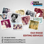 Photo image retouching editing service