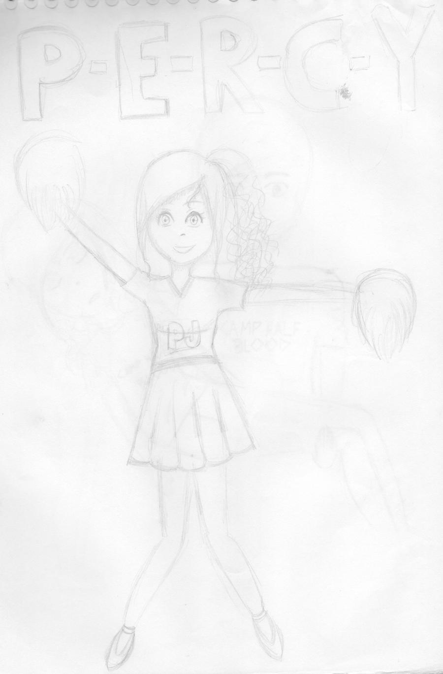 Annabeth Chase - Cheerleader by LilianNogueira