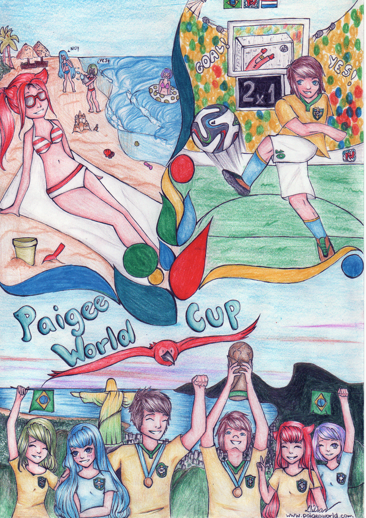 PaigeeWorld Cup contest entry by LilianNogueira