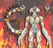 Lavos New _ Chrono Trigger by Sooperkreep