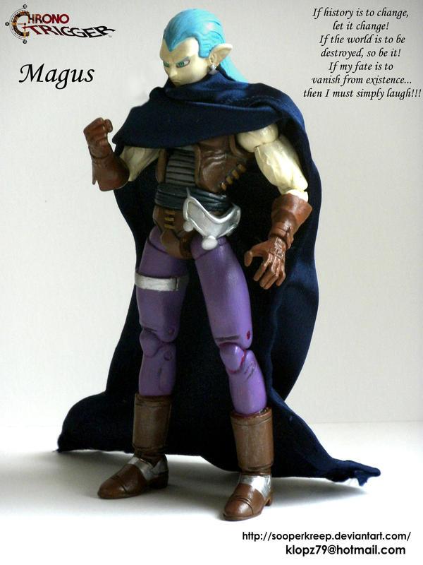 Magus Custom Figure by Sooperkreep
