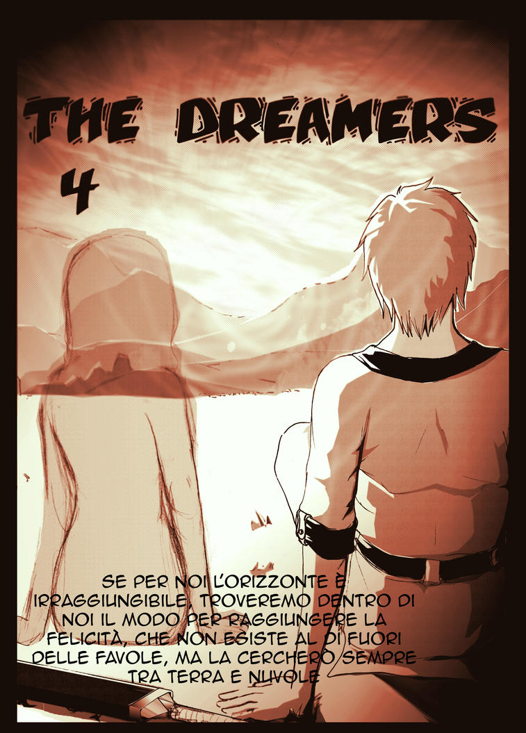 The Dreamers capitolo 4 copertina by pagliacci8