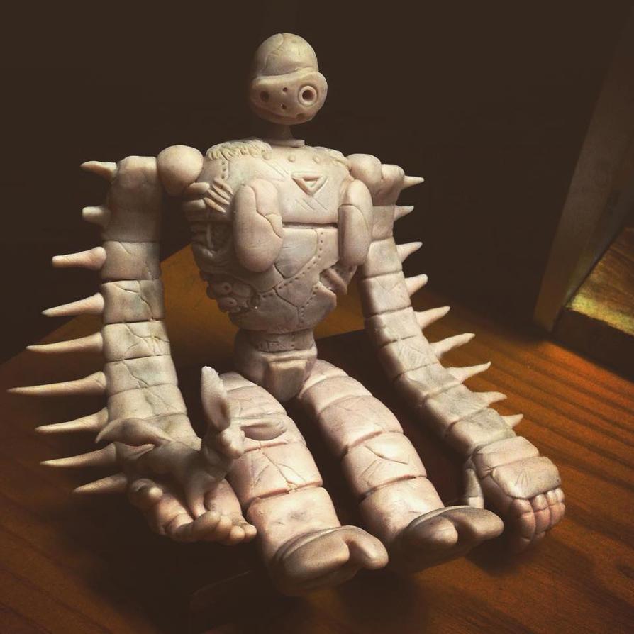 Laputa's robot by Omaislover