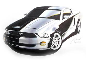 Mustang GT - marker by myadlan