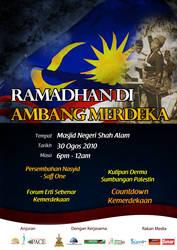 Ramadhan di Ambang Merdeka by myadlan