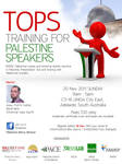 Training of Palestine Speaker