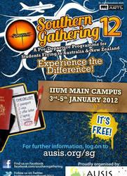 Southern Gathering 2012 Poster by myadlan