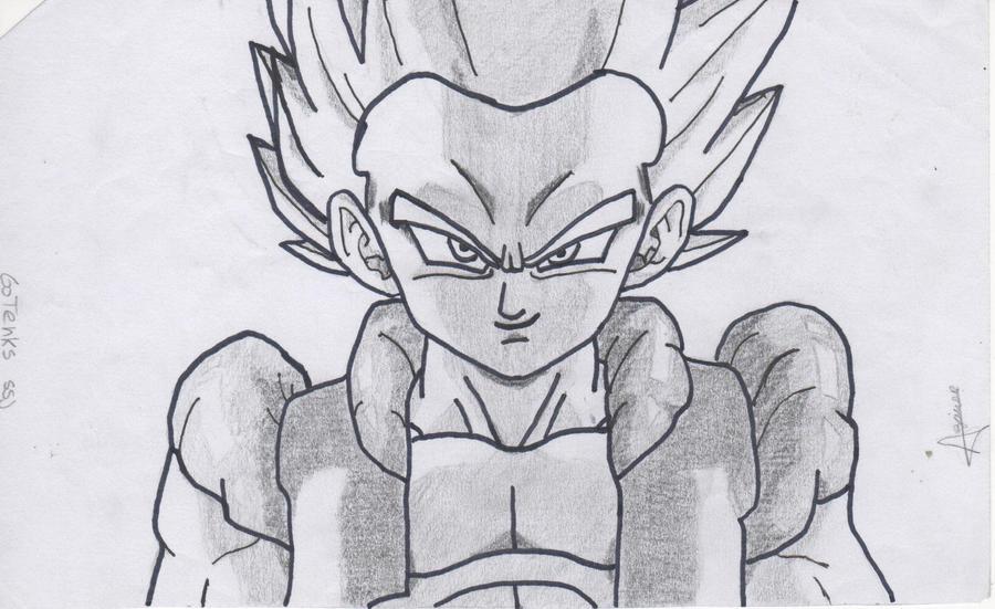Goku And Vegeta Drawing at GetDrawingscom  Free for