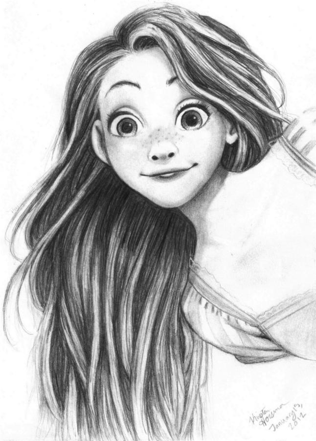 Rapunzel Tangled By NetSketch13 On DeviantArt