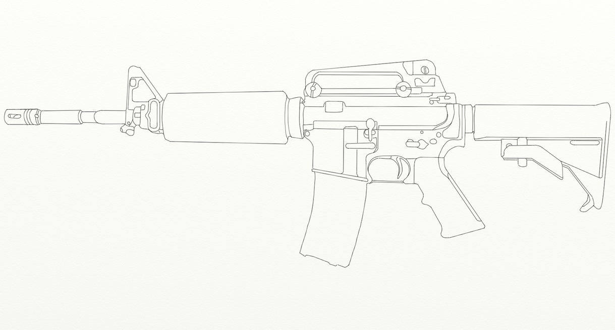 Image gallery m4 drawing for Arkansas blueprint