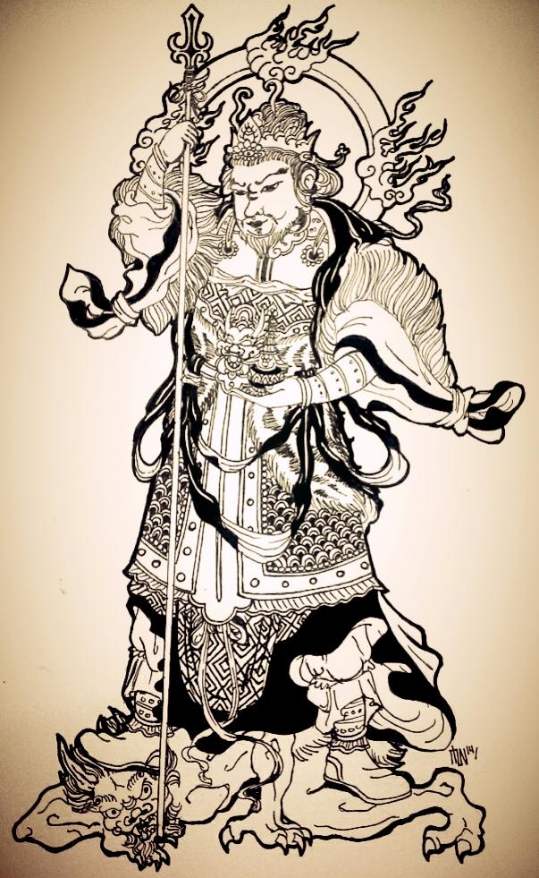 Bishamonten The Fierce Warrior Of Buddhism