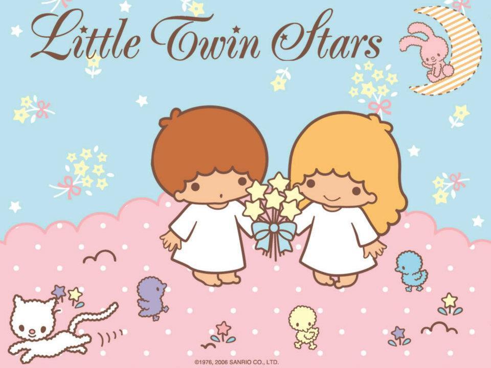 Little Twin Star Cover by chibieggstudio on DeviantArt Little Twin Stars Wallpaper 2013