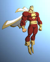Shazam Captain Marvel by Samuca