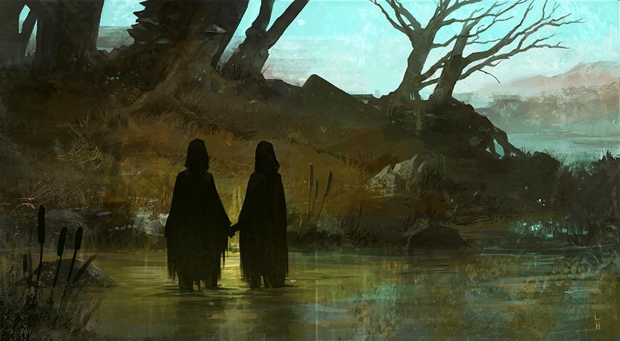 Swamp by laurahaapamaki
