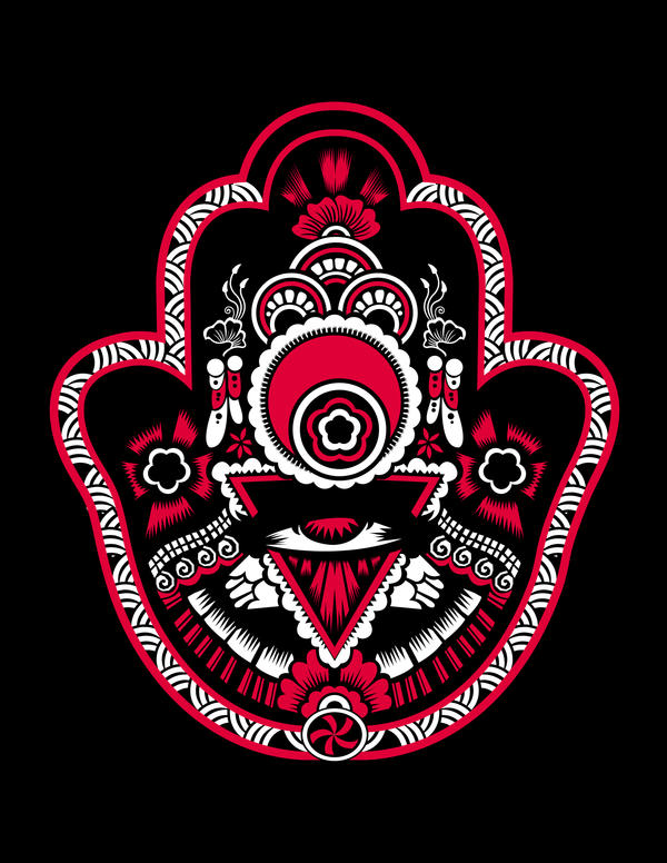THe Mighty Hamsa by DKalderon