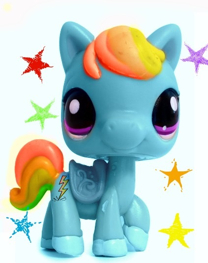 LPS RAINBOWDASH by Puffypaw