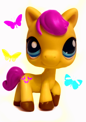 LPS FLUTTERSHY by Puffypaw