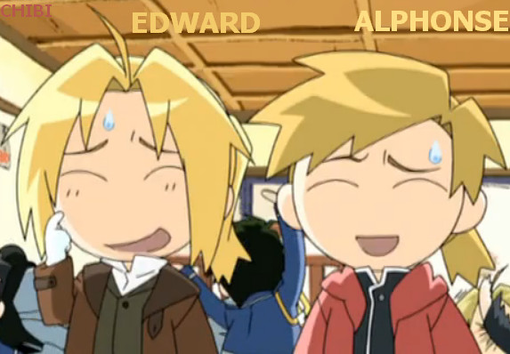 Chibi Edward and Alphonse Elric by Puffypaw on DeviantArt