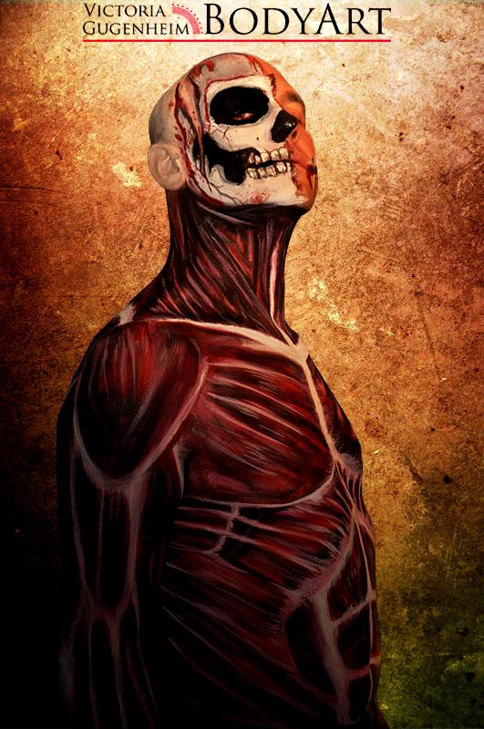 Skinned Alive III by VictoriaGugenheim
