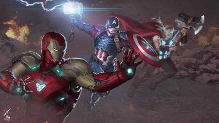 Avengers : Endgame by jojoowong