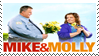 Mike and Molly :Stamp: by KooboriSapphire
