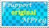 I support original Mpreg :Stamp: by KooboriSapphire