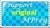 I support original Mpreg :Stamp: by KooboriSapphire