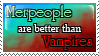 Merpeople are better :Stamp: by KooboriSapphire