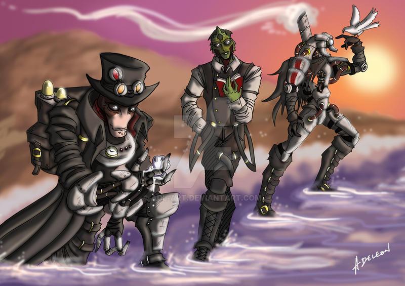 Requiem - Steampunk Effect by ADL-art