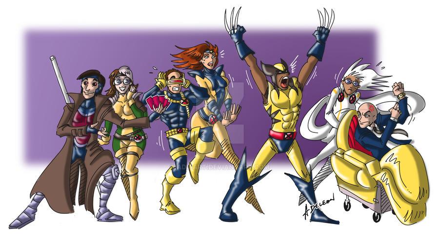 TBBT X-Men by ADL-art