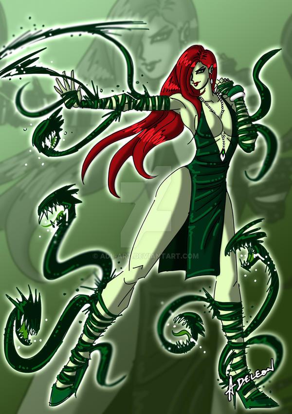 Poison ivy concept art