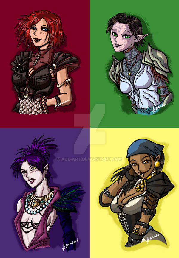 Dragon Age Pop Art by ADL-art