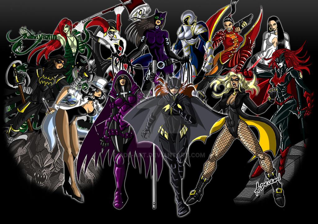 Ladies Of Gotham City by ADL-art
