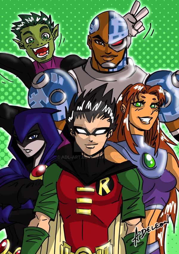 Teen Titans by ADL-art