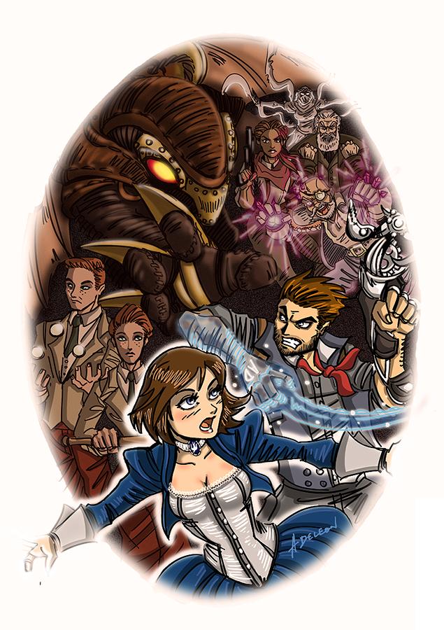 BioShock Infinite by ADL-art