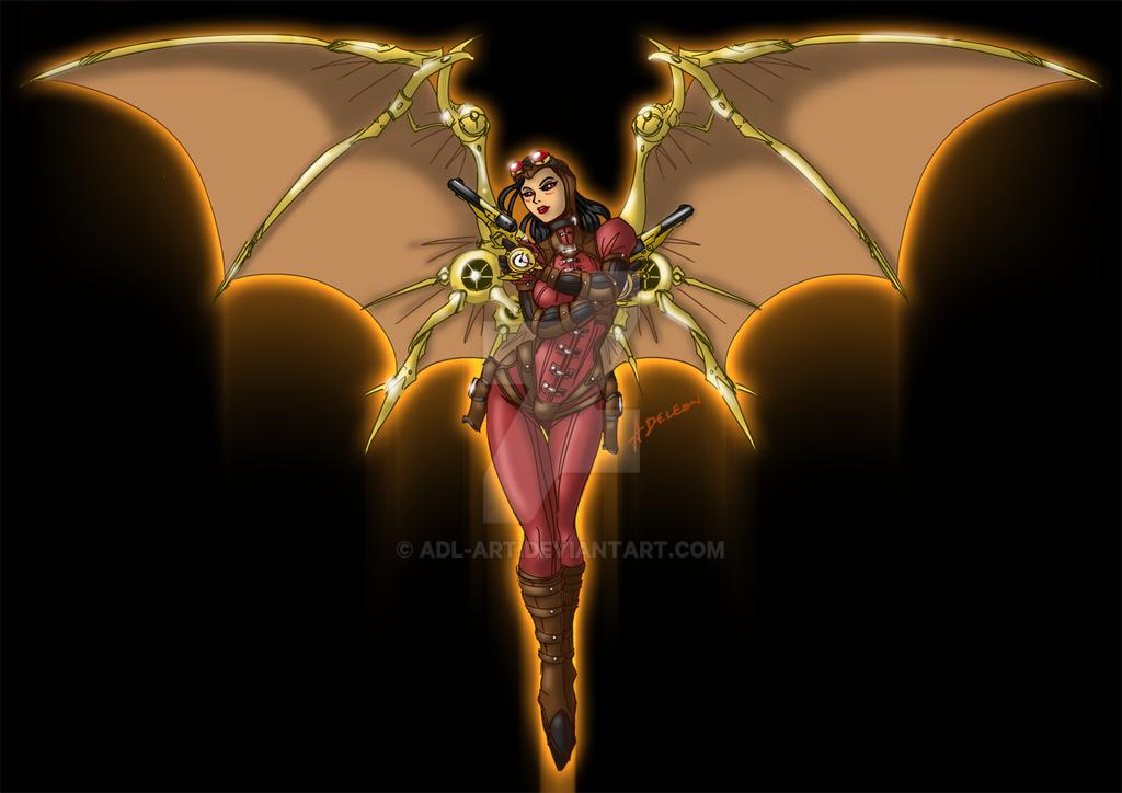 Steampunk Angel by ADL-art