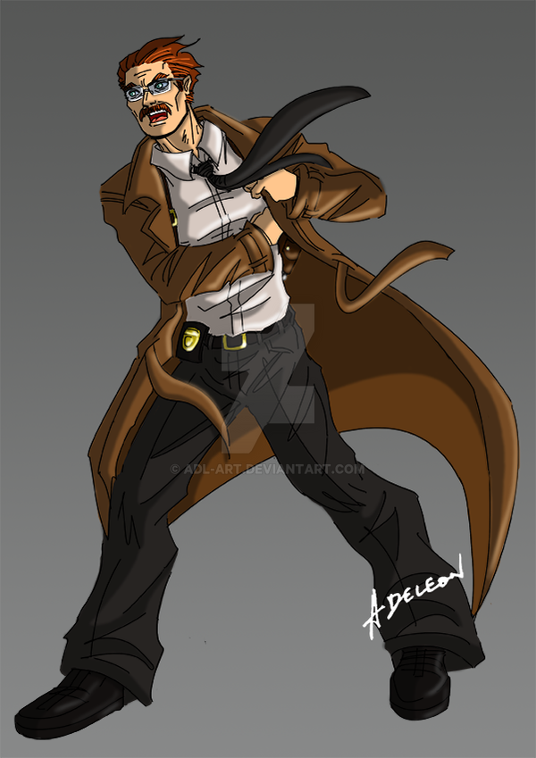 Commissioner Gordon by ADL-art