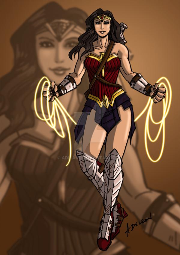 Wonder Woman by ADL-art