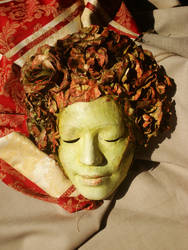 Flower mask by A-Ferrari