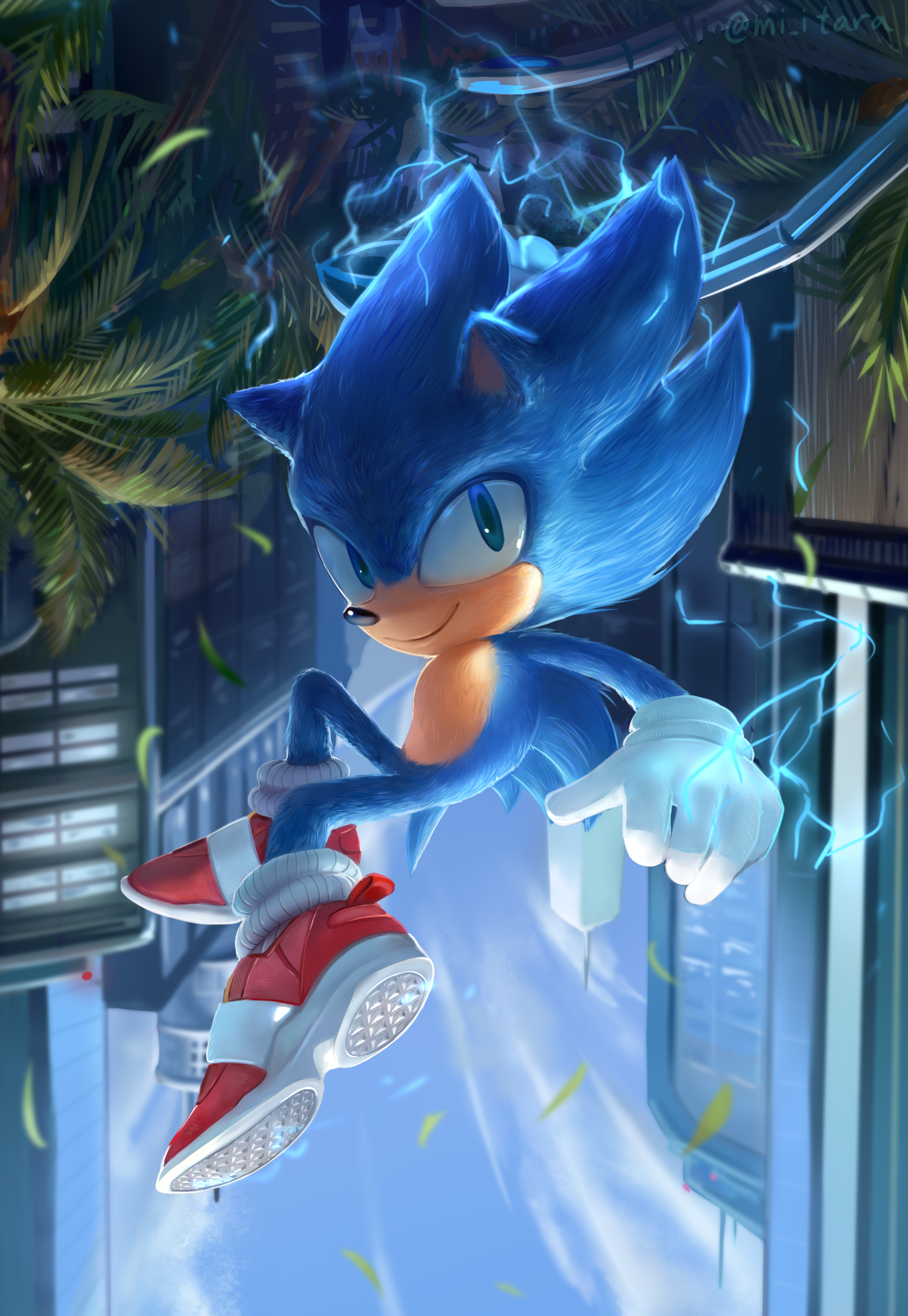 Sonic By Miitara On Deviantart