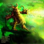 Shlyukka the dwarf druid