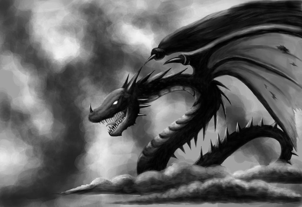 Black Dragon by SteveniX