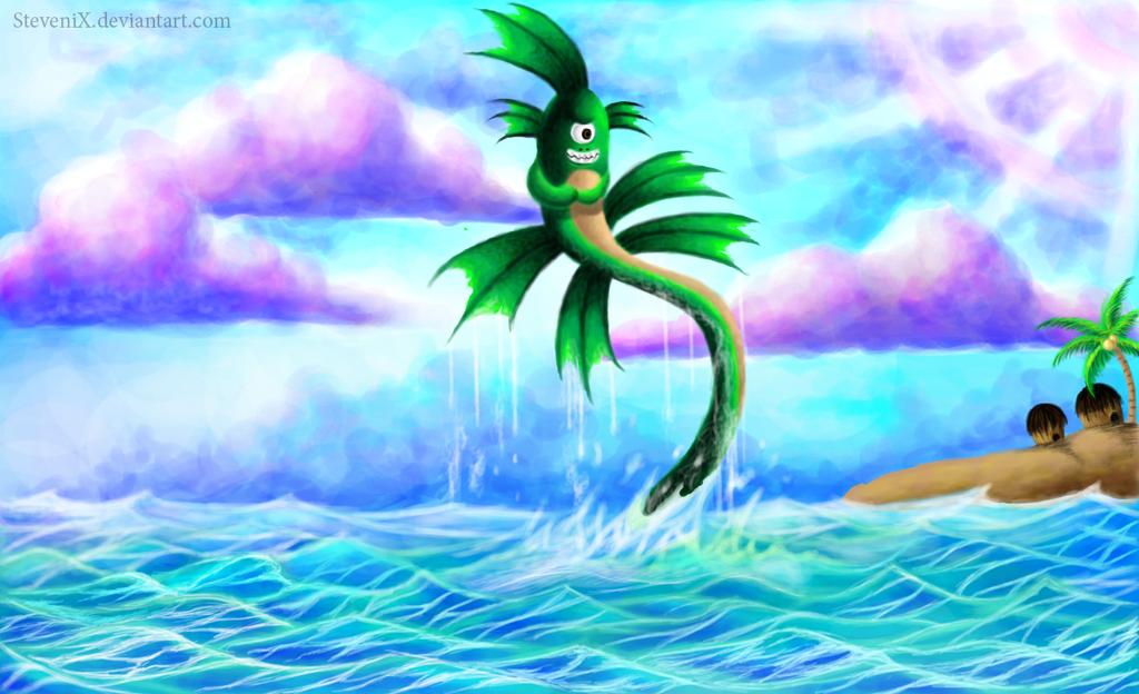 Sea Monster by SteveniX