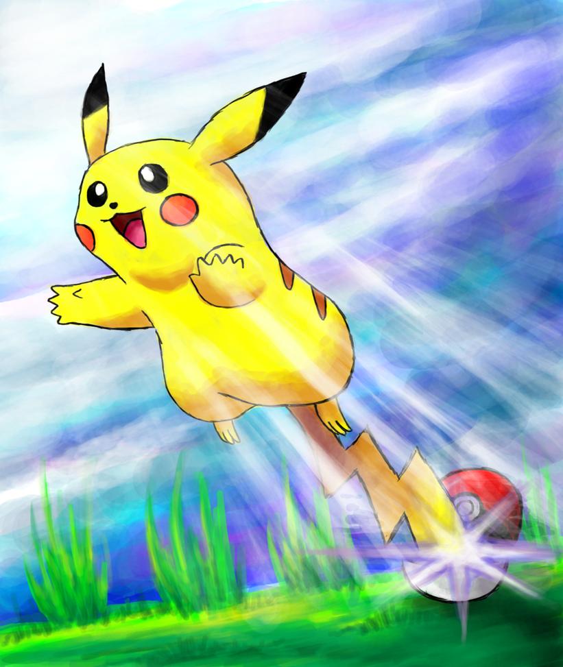 Pikachu !!! by SteveniX