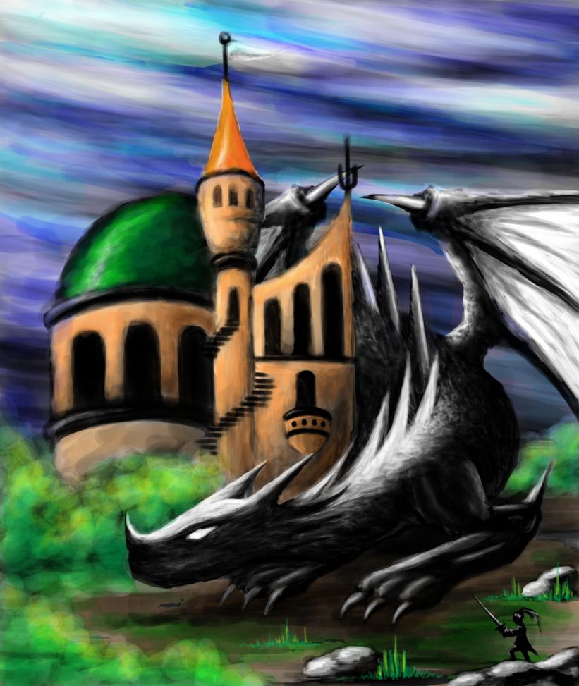 Castle Guardian by SteveniX