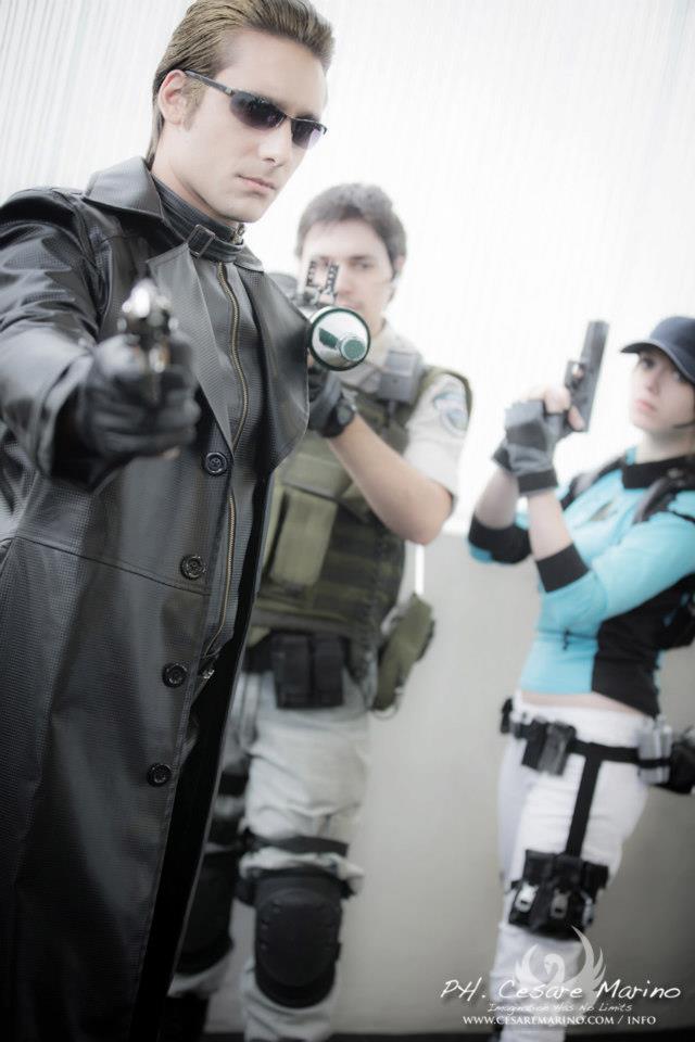 Albert Wesker ,Chris and Jill BSAA by DavidCosplay