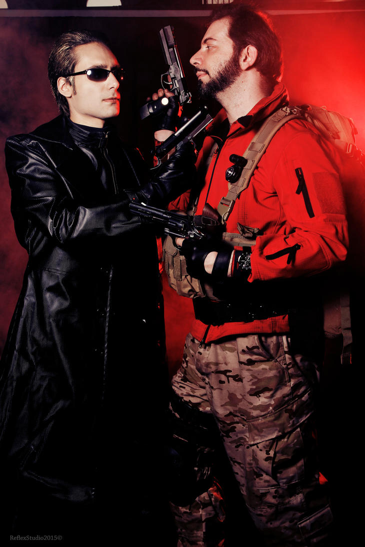 Wesker vs Burton Resident Evil Revelations 2 by DavidCosplay