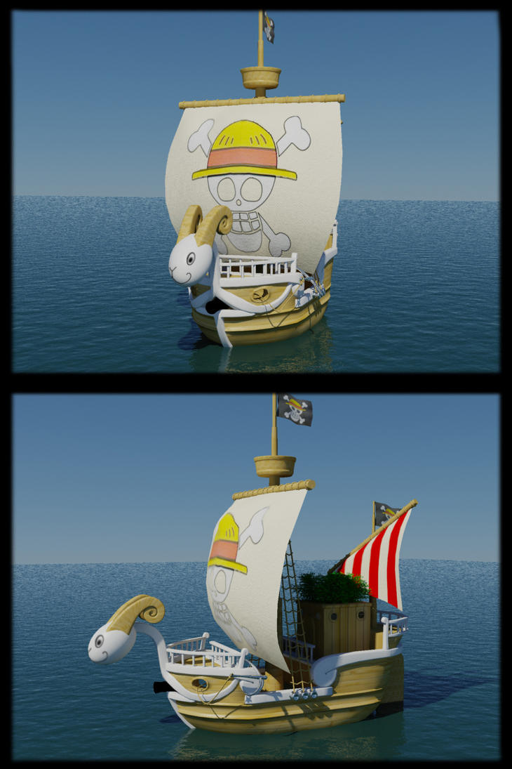 Going Merry 3D by SigfriedX