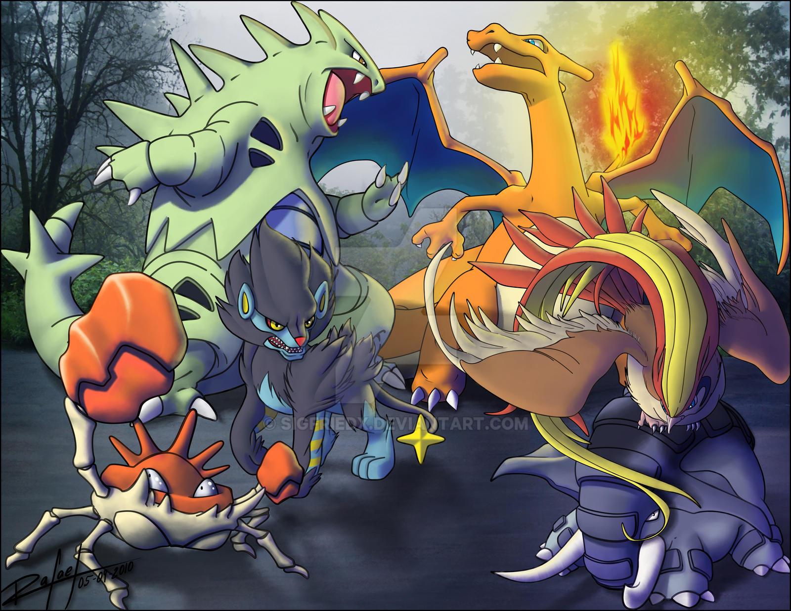 Legendary Pokemon Zoroark Pokemon Dream Team Xd By Sigfriedx Dyyj